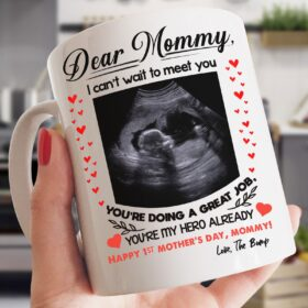 Personalized Happy 1St Mothers Father Day From The Bump Mug Gsge